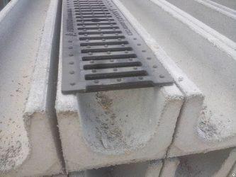 Железобетонные лотки для ливневой канализации