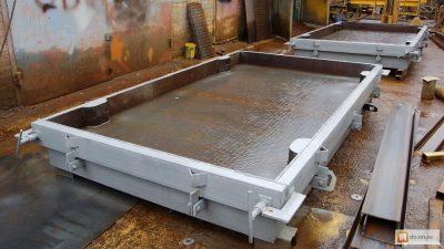 Оборудование для производства дорожных плит