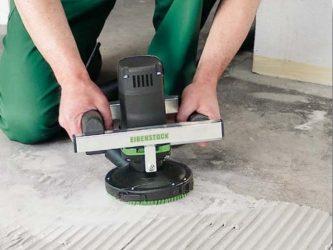 Как отшлифовать бетонный пол своими руками?