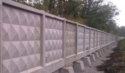 Плита ограды по 2