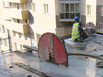 Демонтаж железобетонных плит покрытия технология