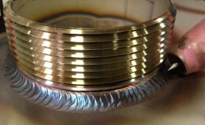 Сварка латуни и стали