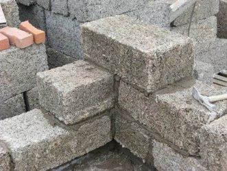 Изготовление блоков из опилок и цемента