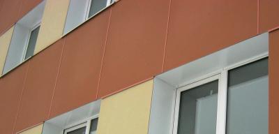 Асбестоцементные плиты для фасадов